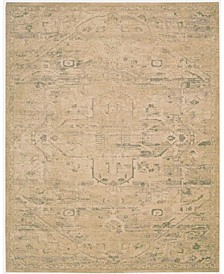 "Silk Elements SKE14 Sand 7'9"" x 9'9"" Area Rug"