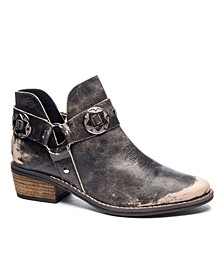 Women's Austin Western Ankle Booties