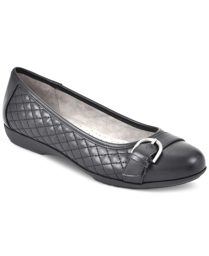 White Mountain - Cadence Buckled Flats