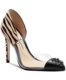 Women's Payve High Heel D'Orsay Pumps