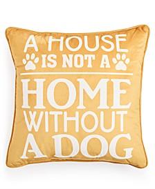 Dog House Decorative Pillow