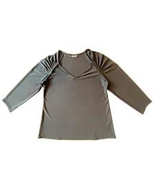 Braided-Sleeve Top, Created for Macy's