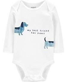 Baby Boy Dog Best Friend Original Bodysuit