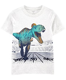 Big Boys Dinosaur Jersey Tee