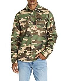 Satige-X Camouflage Sherpa Men's Shirt