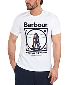 Men's Tarbert Graphic Cotton T-Shirt
