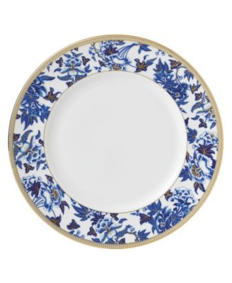 Hibiscus Accent Dinner Plate