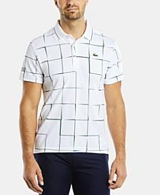 Men's SPORT Short Sleeve Printed Polo Shirt