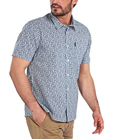 Men's Summer Print Cotton Shirt