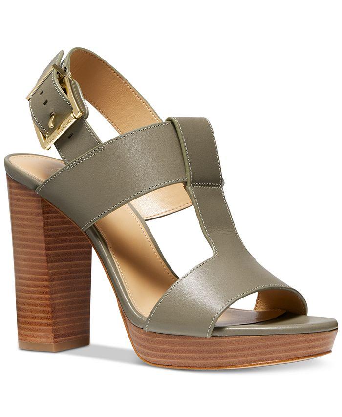Michael Kors - Becker T-Strap Slingback Sandals