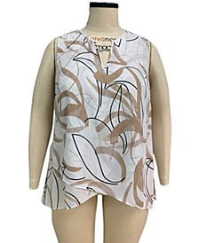 Plus Size Crossover Top, Created for Macy's