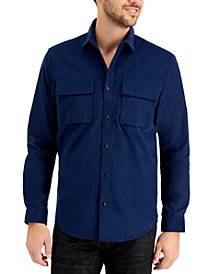 INC Men's Cord Shirt, Created for Macy's