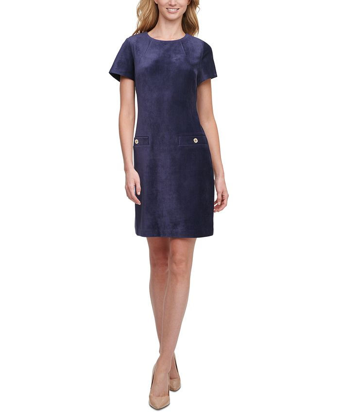 Tommy Hilfiger - Corduroy Shift Dress
