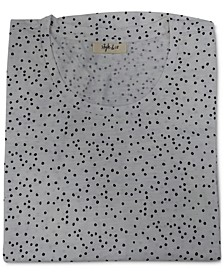 Dot Drama Cotton Printed T-Shirt, Created for Macy's