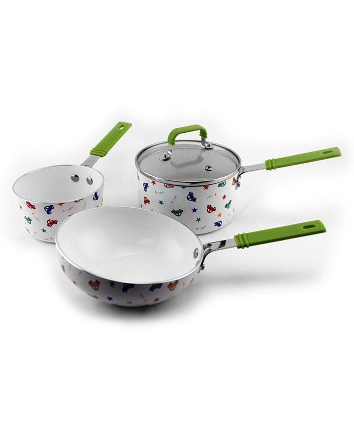BergHOFF - CookNCo Children's 4pc Cookware Set, Boys