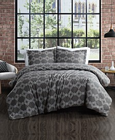 Nina 3 Piece Comforter Set, Full/Queen
