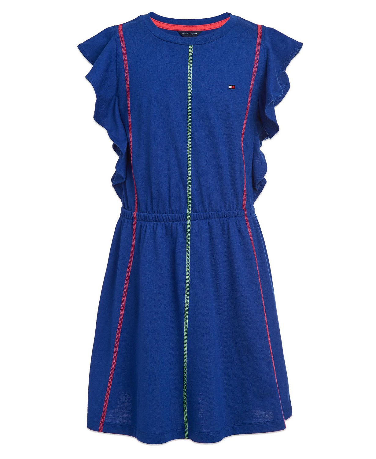 Tommy Hilfiger Big Girls Ruffled Dress