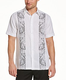 Men's Flamingo Panel Shirt