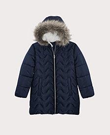 S Rothschild & CO Big Girls Wave Quilt Stadium Jacket