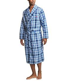 폴로 랄프로렌 로브 Polo Ralph Lauren Mens Plaid Woven Robe,Monroe Plaid