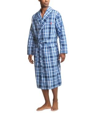 Polo Ralph Lauren Men's Plaid Woven Robe