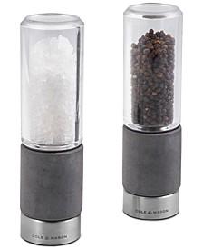 Regent Concrete Stemless Salt & Pepper Mill Gift Set