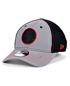 Washington Wizards Gray Black Pop 39THIRTY Cap