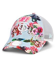 Minnesota Twins Women's Floral 9FORTY Cap