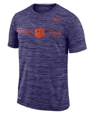 Nike Clemson Tigers Men's Legend Velocity T-Shirt