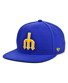 Seattle Mariners Coop Shot Snapback Cap