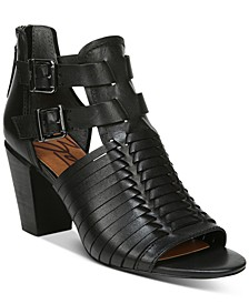 Cassie Block-Heel Sandals