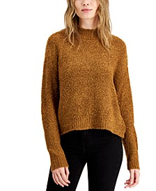 Juniors' Bouclé Sweater