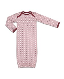 Baby Girls Happy Hippie Sleep Gown