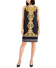 Madeline Medallion-Print Dress, Created for Macy's