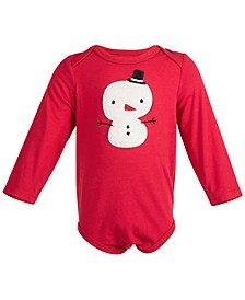 Baby Boys & Girls Snowman Bodysuit, Created for Macy's
