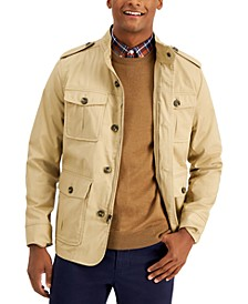 Men's Four-Pocket Utility Jacket, Created for Macy's