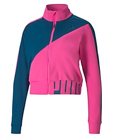 Colorblocked Training Track Jacket