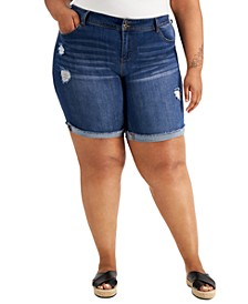 Plus Size Bermuda Shorts, Created for Macy's