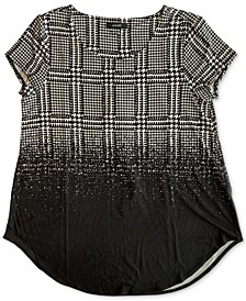 Abstract-Printed Top, Created for Macy's