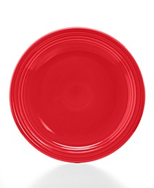 "Scarlet 9"" Luncheon Plate"