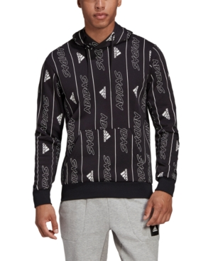 adidas Men's Must Haves Graphic Pullover Hoodie