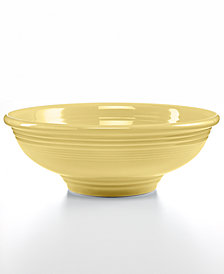 Fiesta Ivory Pedestal Bowl