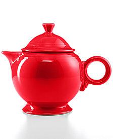 Fiesta 44 oz. Scarlet Teapot