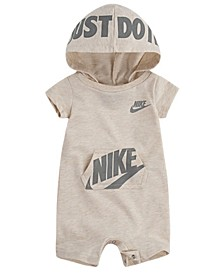 Baby Boy or Baby Girl French Terry Hooded Romper
