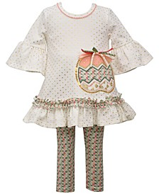 Baby Girls Harvest Pumpkin Legging Set