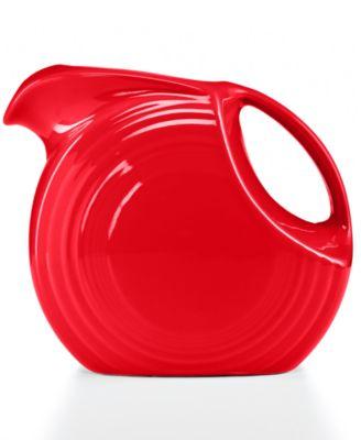 Scarlet 67.75-oz. Large Disk Pitcher