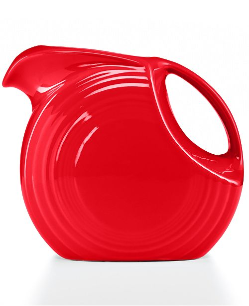 Fiesta Scarlet 67oz. Large Disk Pitcher