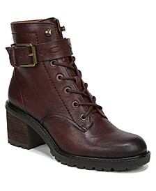 Gemma Mid Shaft Lug Sole Boots