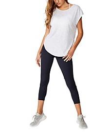 Active Scoop Hem T-shirt