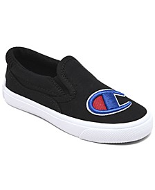 Toddler Boys and Girls Fringe Slip-On Casual Canvas Sneakers from Finish Line